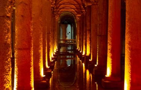 Basilica del agua – Estambul (Turquia)