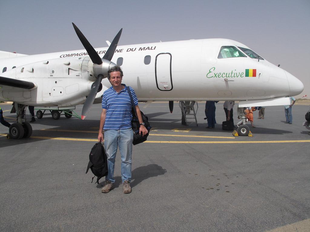 Avión vuelo a Tombuctú