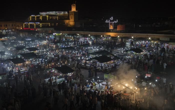 Plaza Jamaa el Fna – Marrakech (Marruecos)